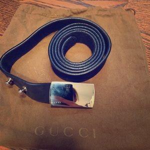 Classic authentic Gucci belt